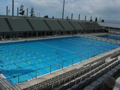 La piscine olympique des j o de barcelone en 1992 le sanctuaire du vrai papallionneur - La piscine olympique montpellier ...