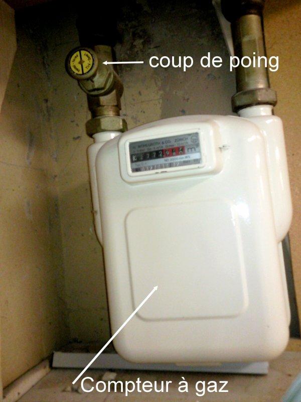 Gaz b 1800 - Compteur gaz individuel ...